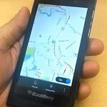 RIM shows off BlackBerry 10 Cascades MapView