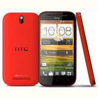 HTC One SV in fiery red now available with Cricket