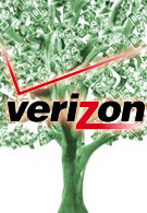Verizon climbs the money tree