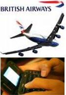 British Airways to allow text & data use