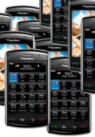 RIM BlackBerry Storm sold 500,000 units in the first month?