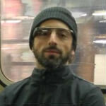 Sergey Brin caught on the NYC subway wearing Google Glass