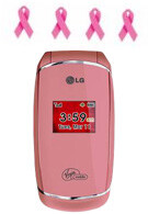 LG Pink Flare available at Best Buy exclusively to benefit research