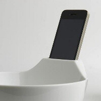 Dining alone? Ramen bowl cup will hold your phone to cheer you up