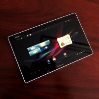 Sony Xperia Tablet Z hands-on videos emerge, signature power key is the new Xperia design trademark