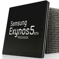 Samsung posts an official Exynos 5 Octa render, we eagerly await the first device with it