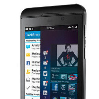 RIM Blackberry Z10 press images leak out, looks like the real thing