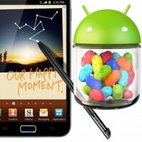 Samsung Galaxy Note closer to getting Jelly Bean update, manual posted officially