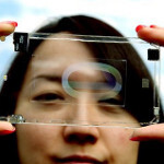 Apple and Samsung are cool, but Polytron Technologies aims higher - at the fully transparent smartphone!