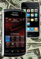 BlackBerry Storm costs more to make than the iPhone 3G
