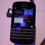 BlackBerry Q10 first look