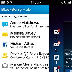 BlackBerry 10: the new features