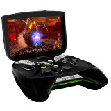 Nvidia Project Shield's first prototype was little more than a gamepad attached to a smartphone with a piece of wood