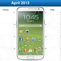 Samsung Galaxy S IV to launch in April