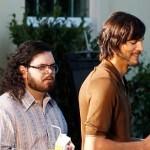 Kutcher and Gad discuss playing Jobs and Wozniak at Macworld
