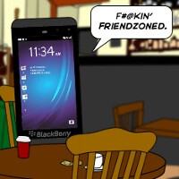 BlackBerry returns only to find itself in the friendzone?