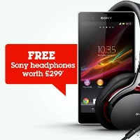 First 1000 Xperia Z buyers at various UK retailers to get Sony's premium MDR-1R cans