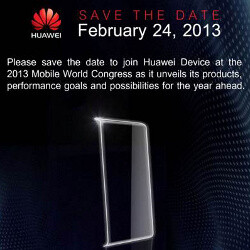 Huawei sends out press invites for MWC: could we see an octa-core Ascend P2?
