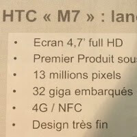 HTC M7 arriving March 8 in France for €650 with the exact same name