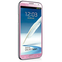 Pink Samsung Galaxy Note II now official, ladies approve