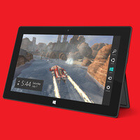 See Counter Strike being played on a Microsoft Surface Pro tablet