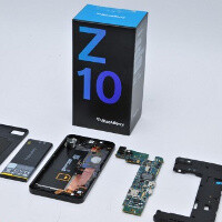 BlackBerry Z10 teardown reveals key Qualcomm and Samsung internals