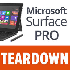 Microsoft Surface Pro gets torn down, nearly impossible to repair