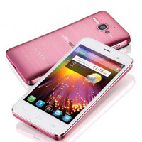 Alcatel One Touch Star is introduced, looks pretty in pink