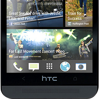 Alleged black HTC One render leaks