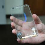 Transparent phone prototype is getting closer