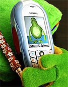 CX70 Emoty - first handset with sensor-controlled emotional communication