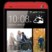 HTC One will also be available in red