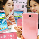 Martian Pink Samsung GALAXY Note II is out of this world, lands in Korea