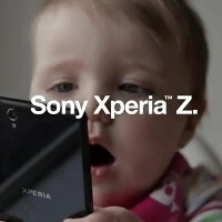 Sony Xperia Z is more than water and dust resistant: it's baby proof (video)