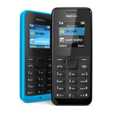 Nokia 105 announced with great battery life, the cheapest cyan you can buy