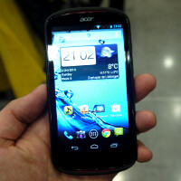 Acer Liquid E1 hands-on
