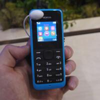 Nokia 105 hands-on