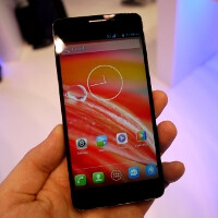 Alcatel One Touch Idol X hands-on