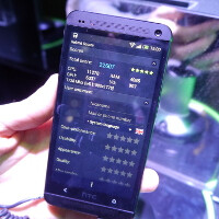 Take a look at us testing the HTC One at MWC: more benchmarks
