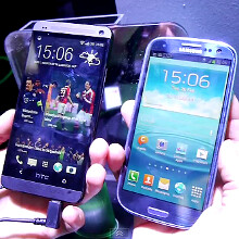HTC One vs Samsung Galaxy S III - first look
