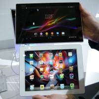Sony Xperia Tablet Z vs Apple iPad: first look