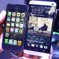 HTC One vs iPhone 5 – first look