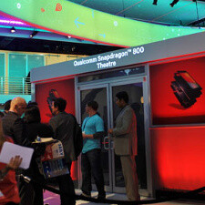 Qualcomm Snapdragon 800 theater demo at MWC 2013