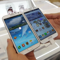 LG Optimus G Pro vs Samsung Galaxy Note II: first look