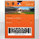 Apple Passbook will be accepted at 13 MLB ballparks this season
