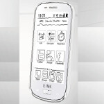New low cost 3G smartphone uses e-ink to keep the price down