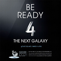 Samsung tweets 'Be Ready 4 The Next Galaxy' invitation for Times Square Galaxy S IV festivites March 14