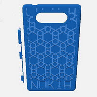 See a Nokia Lumia 820 shell being made using a 3D printer