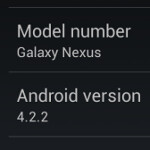 Android 4.2.2 for Verizon's Samsung GALAXY Nexus leaks