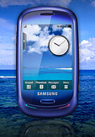 Samsung unveils the Blue Earth solar-powered phone